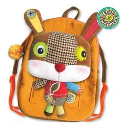 Eco Snoopers Plush Backpack Rabbit, $26 at KarmaKiss.net !!