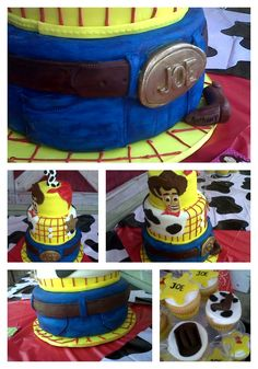 Woody Western Theme design w cupcakes...by DCL