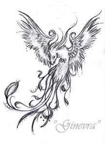 Phoenix Tattoo By GinevrA26592jpg