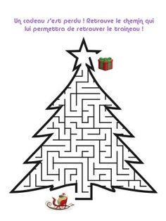 Christmas Maze, School Christmas Party, Christmas Gift Tags, Christmas Colors, Christmas Holidays, Christmas Activities For Kids, Winter Activities, Holidays With Kids, Holidays And Events