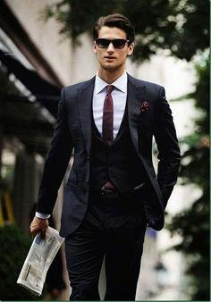 Damn Hot in Suit.