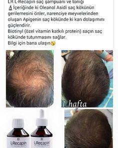 L_Recapin Sampuan ve Tonik seti ile saç dökülmesini durdurup,saç yoğunluğunu artirir