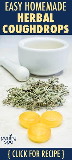 Homemade cough drops are easier than you think. Just tea and honey! Try this super soothing throat lozenge at home!
