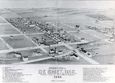 town of De Smet,Sd | Photo courtesy of South Dakota State Historical Society