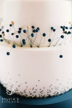 Sylvia's Kitchen | Luxury Hand Crafted Wedding Cakes Sussex | Amy three tiered sharp edged wedding cake at Buxted Park Hotel, image by Georgina Piper Photography