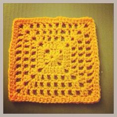 netted granny square