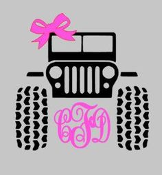 Lilly Pulitzer Jeep Decal Lilly Pulitzer By Bayoumonogram - Jeep vinyls for yeti cups