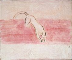 SANYU - Cat and Butterfly
