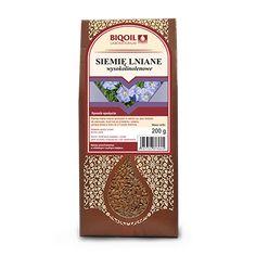 Wysokolinolenowe siemię lniane - idealne do diety doktor Budwig. Bogate w kwasy tłuszczowe i cenne składniki odżywcze.