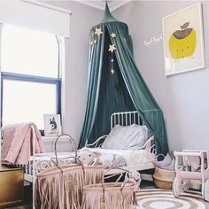 New Canopy Bed Netting Mosquito Bedding Net Baby Kids Reading Play Tents Cotton