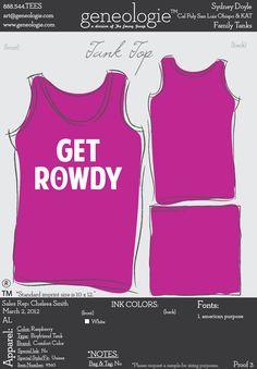 Get rowdy, phi instead