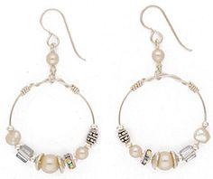 1189-E3 earrings from Desert Heart Jewelry