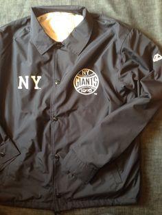 マジェスティックからコーチジャケットのMLB ニューヨーク ジャイアンツが入荷しました。MM73-NYK-0006