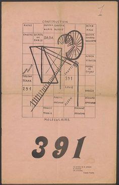 picabia 391 magazine - Google Search