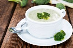 Cream of Broccoli Soup by joy bauer for only 85 calories