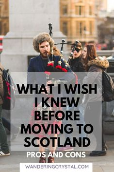 Moving to Scotland and Living in Scotland has tons of pros and cons. Everything from amazing job opportunies to making friends abroad. Read more pros & cons Moving To Scotland, Scotland Travel, Scotland Trip, Working Holiday Visa, Working Holidays, Glasgow Necropolis, Edinburgh Travel, Scottish People, Scotland Holidays
