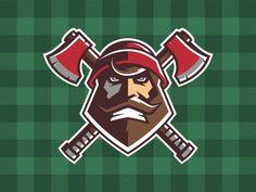logobaker.ru | логотип | Лесорубы