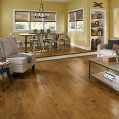 Lowes Hand Scraped Pergo Max Pergo Highland Hickory