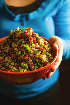 Israeli Chopped Salad-- Janna Gur, author of The Book of New Israeli Food (Schocken, 2008), uses sumac and cinnamon to heighten the flavors of this Israeli staple.