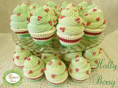 Holly Berry Cupcake Soaps Smell like Karma