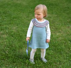 Impress dress with hat and socks - Impress dress - free knitting pattern - Pickles