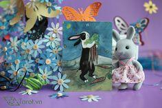 Seven of Swords - The Rabbit Tarot