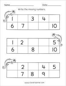 16 Best Missing Number Worksheets Images Math Activities Math