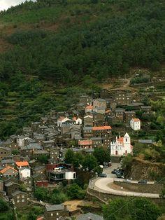 Arriving at the village Village de Piodão, Portugal Portugal, Dolores Park, Enchanted, Places, Travel, Houses, Viajes, Trips, Traveling