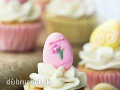Cupcakes s tvarohovým krémom
