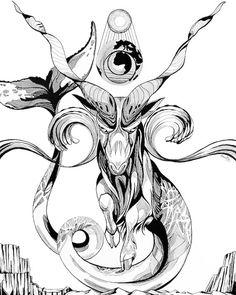 Black and White Wall Art Art Print Capricorn art by LunaBrieArts Capricorn Symbol, Capricorn Tattoo, Capricorn And Aquarius, Horoscope Capricorn, Black And White Wall Art, Black White, Tattoo Design Drawings, Tattoo Designs, Rune Symbols