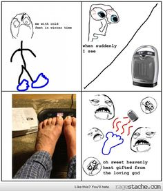 I love this during winter time - Ragestache Derp Comics, Rage Comics, Troll Face, Seriously Funny, Hilarious, Funny Gifs, Teen Posts, Have A Laugh, Winter Time