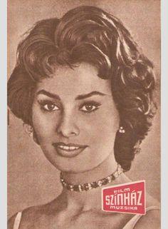 So many Sophias: Sophia Loren in covers – Szinhaz Muzsika 1960