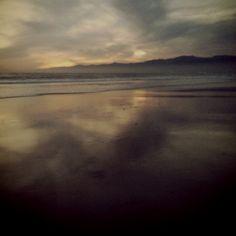 Sunset at Venice beach 1/10/12