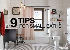 Bathroom decor ideas for small baths... 9