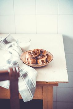 Nutella roll buns