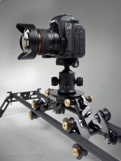 "Zolinger 63"" Camera Slider ZL1600 Carbon Fiber DSLR Glidetrack Dolly Rail Track | eBay"