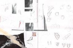 The Only Performance: Sketchbook design development