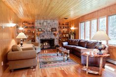 Warm up next to the fireplace with family and friends around you. Eagle Point in Eagle River is a home away from home.