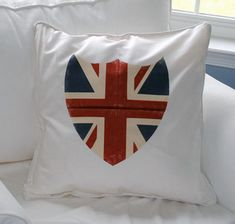 Union Jack Shield Pillow