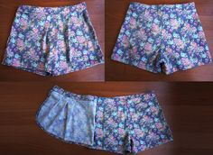 Выкройка юбки-шорт для девочки — Шкатулка