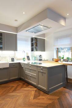 Kitchen Island, Kitchen Cabinets, House, Kitchen Ideas, Home Decor, Kitchens, Home, New Construction, Modern Condo