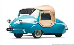 Microcars worth big bucks at museum auction - 1956 Paul Vallee (19) - CNNMoney