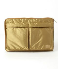 "B印 YOSHIDA(×PORTER)のUNITED ARROWS & SONS×PORTER×B印 YOSHIDA ""BULLION GOLD"" CLUTCH BAG 【予約】です。こちらの商品はBEAMS Online Shopにて通販購入可能です。"