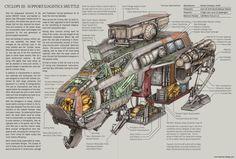 Cyclops III Book Spread by MikeDoscher.deviantart.com on @DeviantArt