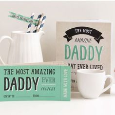 Free Fathers Day Printable Coupons