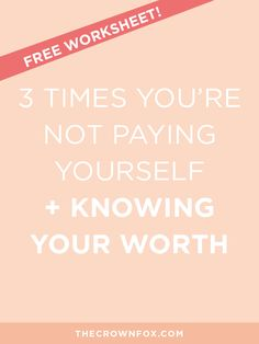 I've been focusing a lot lately on business related posts because I've been talking to fellow online business owners through my mini coaching and regular coaching sessions (interested in trying out a mini coaching session? I launched them exclusively to my email list, which you can subscribe to by grabbing the Knowing Your Worth worksheet below!). I've been hearing concerns, worries, highs and lows, and general questions about starting and running an online business.  Something that comes…