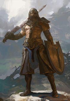 fighter, Fenghua Zhong on ArtStation at https://www.artstation.com/artwork/vXWlx