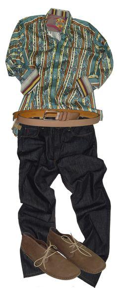 """Casual Fridays: Robert Graham Shirt #bigandtall, """"'Cause big guys gotta look good too."""""""