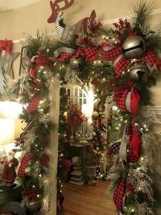 39 Best Diy Christmas Garland Images In 2012 Christmas Diy
