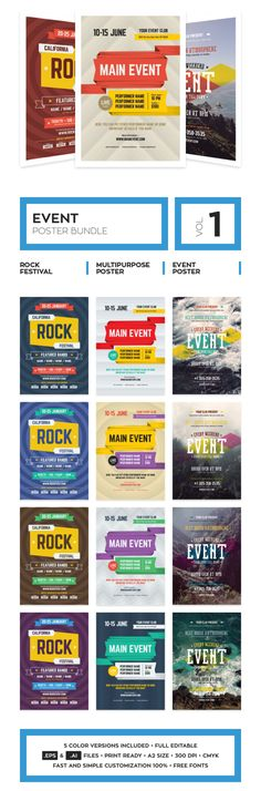 34 best creative event flyer templates ideas more images on